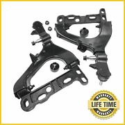 2x Front Lower Control Arms Pair Set For 2002 2003 Chevy Trailblazer Gmc Envoy