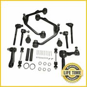 14x Suspension Kit Upper Control Arms Tie Rods Set For Ford F-150 250 Lobo 2wd