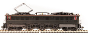 Broadway 5938 Prr P5a Boxcab, Unlettered, Passenger Type, Dgle, Brown Roof