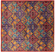 8and039 3 X 8and039 7 William Morris Hand Knotted Wool Rug - Q4594