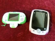 Leap Pad Pink Tablet And Leappad Explorer Learning Handheld Lot No Chargers