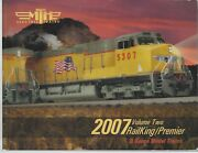 Mth Electric Trains 2007 Volume 2 Premier Railing And Tinplate Traditions O Gauge