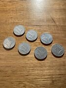 Mixed Lot Italian 10l Coin 1950s And 70s