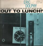 Eric Dolphy Out To Lunch Lp Vinyl Uk Blue Note 1977 5 Track Stereo Blue Label