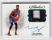 Mo Bamba 18/19 Flawless Auto Patch Rc Sp-mbb Sn 2/5