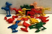 20 Toolie Tooly Birds Gumball Vending Machine Toy Charm Prizes Old Store Stock