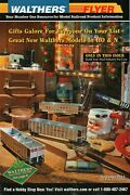 Walthers Model Railroad Catalog November 2011 Walthers Flyer Free Shipping