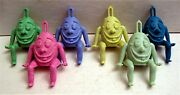 6 Old Humpty Dumpty Lucky Charms Vending Machine Toy Prizes Old Store Stock