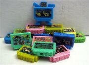 12 Old Transformers Tv Game Robots Vending Machine Toy Prizes Old Store Stock