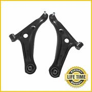 2x Front Lower Control Arms Pair For 2014 2015 2016 2017 2018 Mitsubishi Mirage