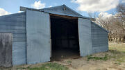 40and039 Steel Trusses Includes Purlins Styrofoam Insulation And Tin Roof.andnbsp