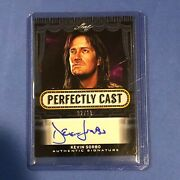2013 Leaf Pop Century Perfectly Cast Kevin Sorbo Authentic Signature 02/10