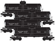 Micro-trains Mtl N-scale O-50-12 Tank Cars Southern Pacific/sp - Runner 4-pack