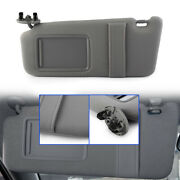 Left Driver Side Sun Visor Sunshade Without Sunroof For Toyota Camry 2007-2011
