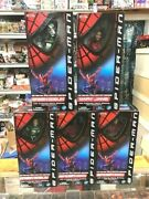 5 / Toy Biz Official Movie 12 Figure - 2 Spider-man, 2 Green Goblin And Mary Jane