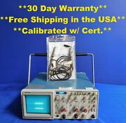 Tektronix 2236 Analog Oscilloscope 100 Mhz 2 Channels With 2 Probes