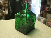 Rare Vermont State Blown Glass Limited Edition Bottle Maple House 116/500 Cabot
