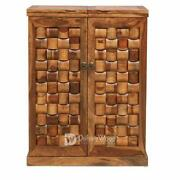 Wooden Bar Counter Cabinet Rack Storage Furniture For Wine Whisky Scotch Holders