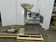 Stainless Steel Vibratory Bowl Feeder Assy. W/hopper And Adjustable Height Table