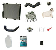 New For Mercedes W201 190e 2.6 Radiator Water Pump Antifreeze Cooling System Kit