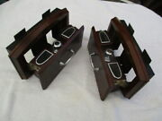 Rear Seat Drawer Type Recessed Ash Trays With Cats Eye Cigar Lighters