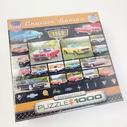Eurographics Cruisin' Series American Cars Of The 1960 Puzzle 1000 Classic Cars