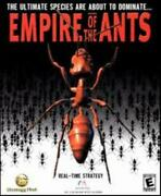 Empire Of The Ants + Manual Pc Feed Workers Insect Bug Colony Simulation Game