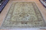 Hanmdade Ug 6and039 X 8and039 With Soft Color Muted Beige Color Cream Background Rug