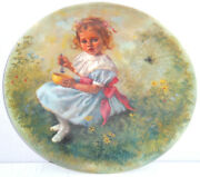 Little Miss Muffet Collector Plate Coa Reco International Vintage Retired 1981