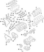 11040jf00a Nissan Head Assy-cylinder 11040jf00a New Genuine Oem Part