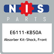E6111-kb50a Nissan Absorber Kit-shock Front E6111kb50a New Genuine Oem Part
