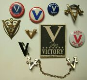Ww2 Victory Homefront Collection - 10 Items