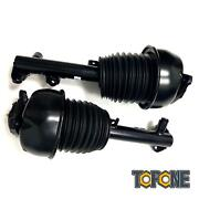 2 Pc For Mercedes W212 E300 2wd Air Suspension Shock Absorber Front Left And Right