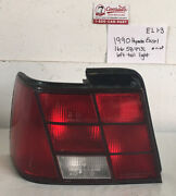 Used Vintage Hyundai Excel 1990andrsquo Left Side Tail Light Drivers Quality