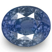 Gia Certified Sri Lanka Blue Sapphire 4.64 Cts Natural Untreated Oval