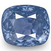 Gia Certified Sri Lanka Blue Sapphire 5.21 Cts Natural Untreated Intense Blue