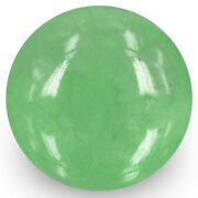 Colombia Emerald 16.66 Cts Natural Medium Green Round