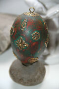 Easter Egg Tsarist Russia 19th Century Christianity Antiques Collecting Vintage