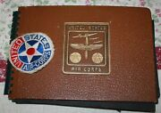 Wwii Army Air Corps Soldiers Photo Book Portland Or Airbase Couple Japan Action