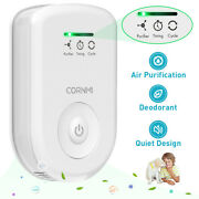Plug In Air Purifier For Home, Odor Eliminator Ozone Cleaner Mini Air Ionizer Us