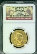 2011-w 10 Gold Spouse Lucy Hayes Ngc Ms70 Ms-70 Er Early Releases Scarce