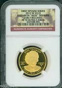 2015-w 10 Gold Spouse Bess Elizabeth Truman Ngc Pf70 Pr70 Early Releases Er