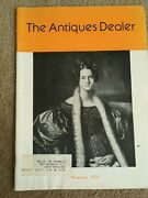 Rare 1975 The Antiques Dealer Pewter Canadian Antiques Pricing Great Ads