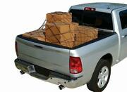 Cargo Net Bed Tie Down Hooks For Nissan Frontier Mid Size Long Bed 60 X 98 New