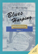 Blues Harping Harmonica Lessons Learn How To Play Harp Music Book Cd Pack