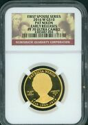 2016-w 10 Gold Spouse Patricia Pat Nixon Ngc Pf70 Pr70 Early Releases Er