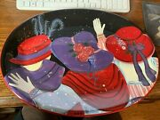 Colorful Certified International Susan Winget Large Platter With Free Shipping