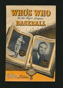 1952 Whoand039s Who In The Major Leagues Baseball Nice Book W/ Mantle Mays