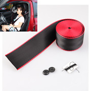 Car Seat Belt Dual Colors Style Strip Racing Harness Ribbon 3.6m Auto Accessory