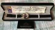 Fantasma 1993 Spiderman Limited Edition Watch New In Box / Certificate Of Auth